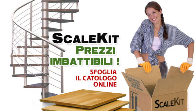 scalekit, i professionisti della vendita di scale a chiocciola, a rampa, retrattili, per interno ed esterno