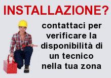 Verifica disponibilita' tecnico per l'installazione