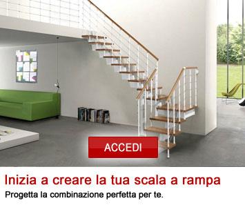 Configura la tua scala a rampa
